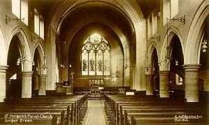 interior of St Margaret's Church Juniper Green